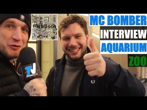 "MC BOMBER & MC BOGY Interview im Zoo / Aquarium Berlin zum Album ""Gebüsch"" - TV Strassensound"