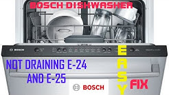 ✨ BOSCH DISHWASHER  NOT DRAINING — FAST and EASY FIX ✨