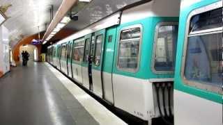 [Paris] Trains de MF77 Métro 7 - Pont Neuf