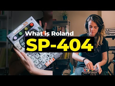 Roland SP-404: why it's awesome for live lofi (with BAD SNACKS)