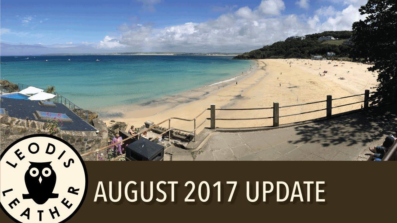 Leodis Leather - August 2017 Update - YouTube d18654e55b93f