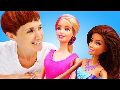 Сборник видео про куклы для детей. Маша Капуки, Барби и Челси отдыхают вместе