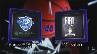 Highlights/ Banco Di Sardegna Sassari - Fiat Torino 4° Turno Lba Serie A Postemobile