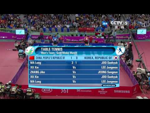 2014 Asian Games MT-Final: CHINA Vs KOREA [HD] [Full Match/Chinese]