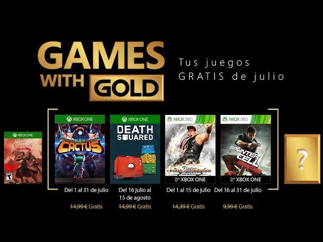 Xbox Games With Gold Julio 2018 Estos Son Los Juegos Gratuitos Del