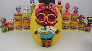 LOL Bebek Confetti Pop Sürpriz Yumurta Oyun Hamuru Lil Sisters Barbie Slime NUMNOMS Bidünya Oyuncak