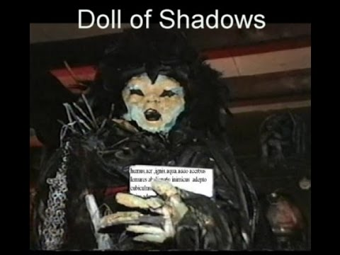 Ed and Lorraine Warren doll of Shadows and hexes