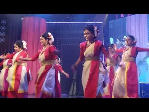 Dhak Baja Kashor Baja presented by Gita Academy Cultural team in Banani puja Mandam DHAKA