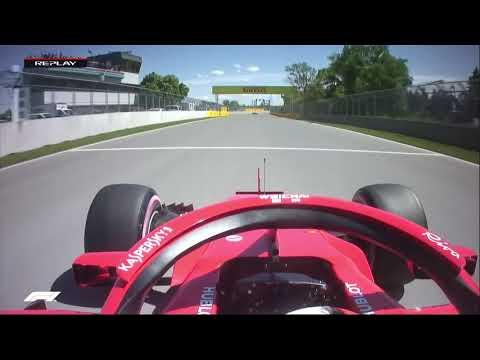 Sebastian Vettel's Pole Lap | 2018 Canadian Grand Prix