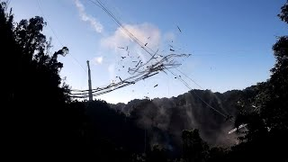 World's largest radio telescope collapses