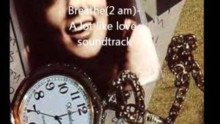 Anna Nalick-  Breathe(2 am) - A Lot Like Love Soundtrack