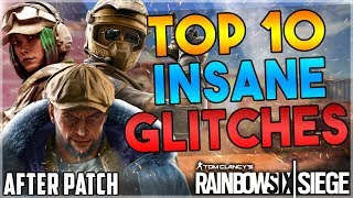 TOP 10 INSANE WORKING GLITCHES AFTER OPERATION BURNT HORIZON - (Rainbow Six Siege)
