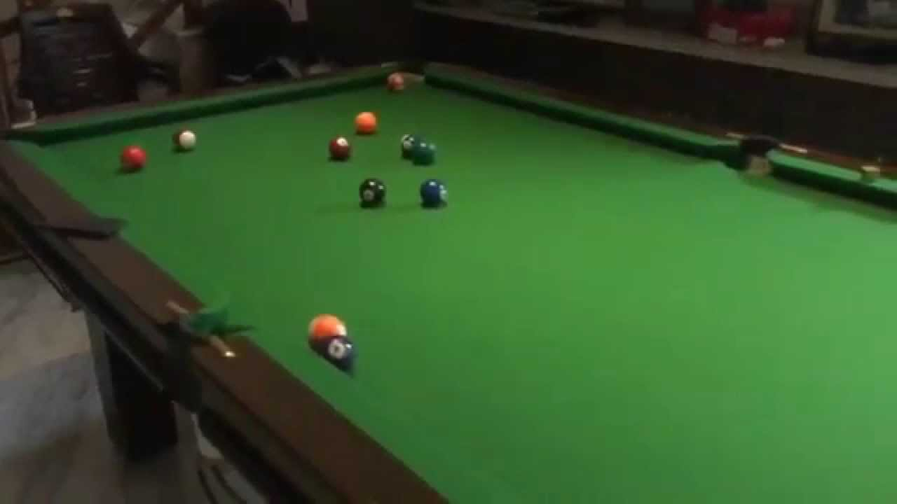 pool trick shot of the day youtube. Black Bedroom Furniture Sets. Home Design Ideas