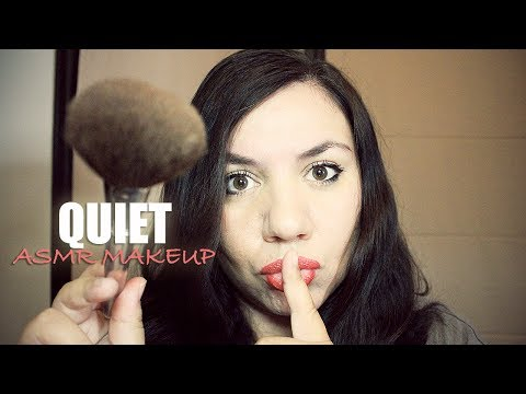 THE MOST QUIET ASMR MAKEUP APPLICATION RolePLAY