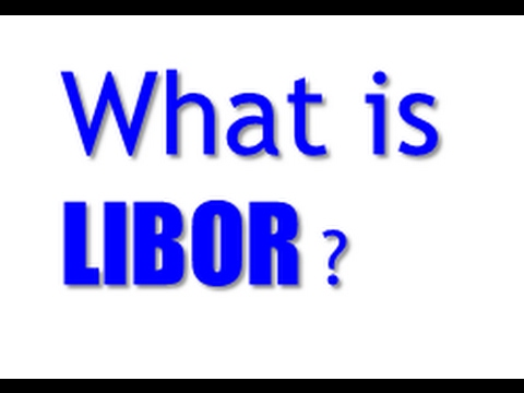 What is LIBOR ?