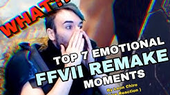TOP 7 Emotional Final Fantasy VII REMAKE Moments by Leon Chiro ( First Blind / Run REACTION )