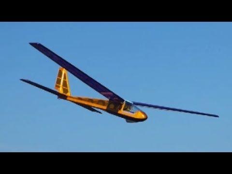 DPR Models Rare Bird  Free-flight glider converted to RC