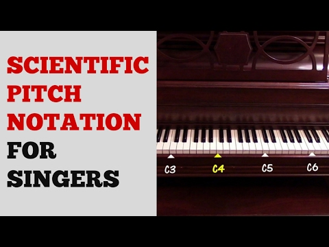 SCIENTIFIC PITCH NOTATION Tutorial for Singers