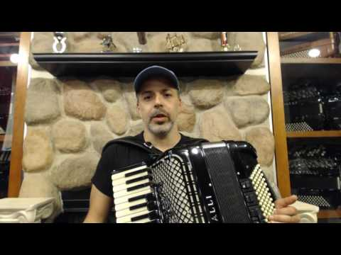 How to Play Brazilian Baião Music on Piano Accordion - Lesson 3 - Advanced Techniques