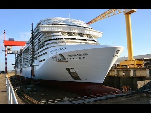 MSC Meraviglia - The Float Out Day - by STX France