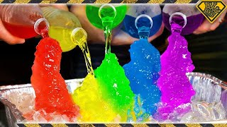 How To Make RAINBOW Instant Ice! thumbnail