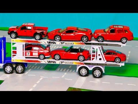 Мультфильм про машинки автовоз