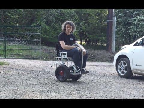 Electric Power Trike Wheel Chair Stuart Dunne Of Cyclon