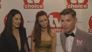 The cast of Hollyoaks TV Choice Awards 2016