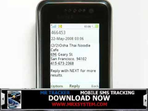 Google Earth and Google Maps Mobile Phone Tracking