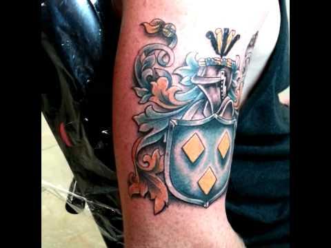tattoo family crest