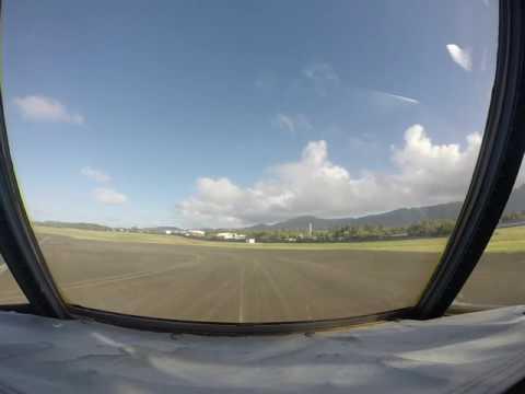 America Samoa Takeoff