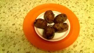 Вкусняшки. Рыбные котлеты. Картофель обжаренный. Салат весенний.