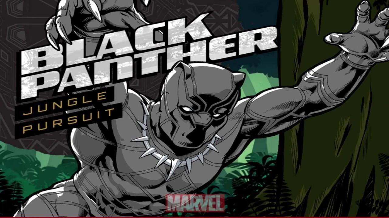 Avengers Games Black Panther Jungle Pursuit Video Game Lol Error