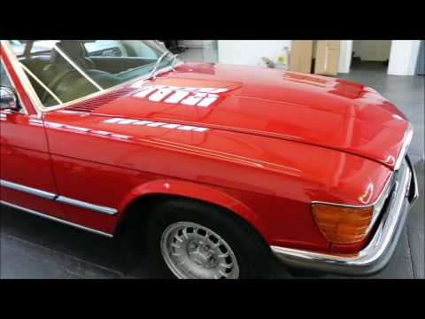 1979 RED MERC CLASSIC DETAILED