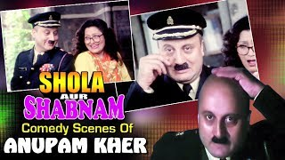 Anupam Kher Comedy Jukebox | شولا اور شابنام | With Arabic Subtitles (HD)