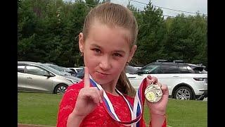 Марьяна Валицкая фигурное катание 3 юн р Сергиев Посад 1 место figure skating