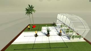 HITMAN GO VR Gameplay (HTC Vive)