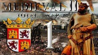 Прохождение Medieval 2: Total War За Испанию. 1 серия.