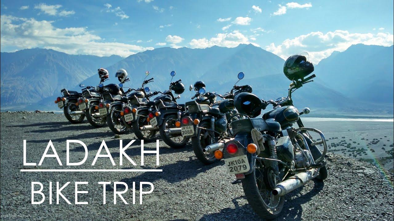 Ladakh Bike Trip Youtube