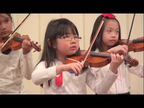 2018 Suzuki Violin Ensemble: Book 1 Graduation.