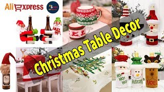 AliExpress Top Christmas table decoration / Christmas Cheap Table Decor Ideas