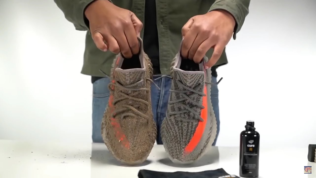 sports shoes 326ee f073e CREP PROTECT YEEZY 350 V2 CLEANED (@SCOOP208)