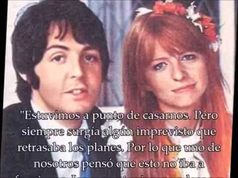 Paul McCartney & Jane Asher/ HISTORIAS BEATLE