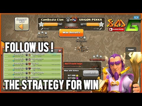 Clash of Clans⭐CLAN WAR 3-STAR TH 11⭐STRONGEST ARMY-QW BOWIPE GIBOWITCH STRATEGY !!