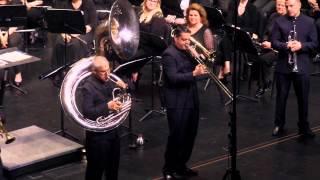 Boston Brass Performing Blues for Ben by Stanton Moore (arr Sam Pilafian)