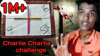Charlie Charlie (pencil game) 3:00am challenge || Indian version |#CharlieChallenge #BloodyMery