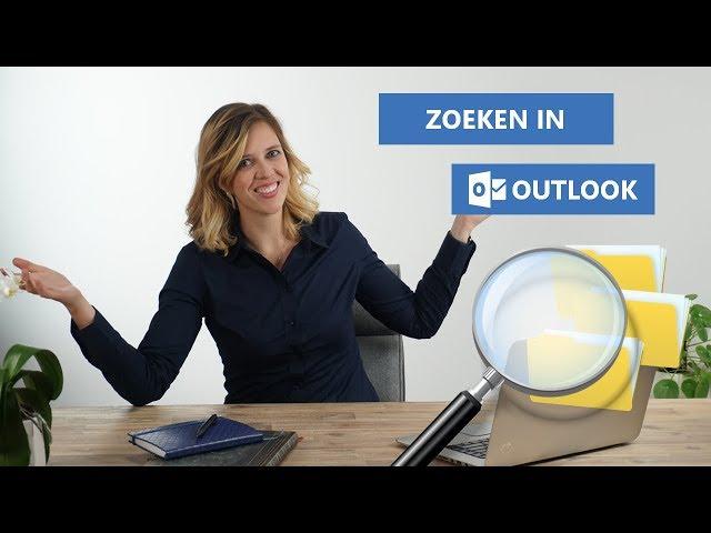 🔍 Makkelijk zoeken in Outlook 🔎