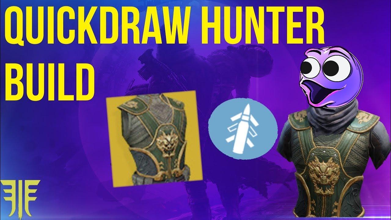 The Best Hunter Exotic! The Quickdraw Build! Destiny 2 Forsaken