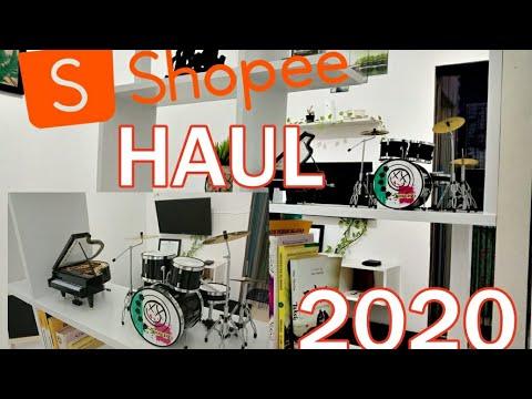 shopee haul 2020 | miniatur drum untuk dekorasi rumah