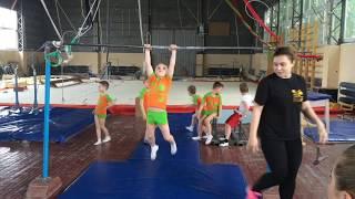 Межклубные соревнования по спортивной гимнастике (дети 6 лет) Школа Стеллы Захаровой